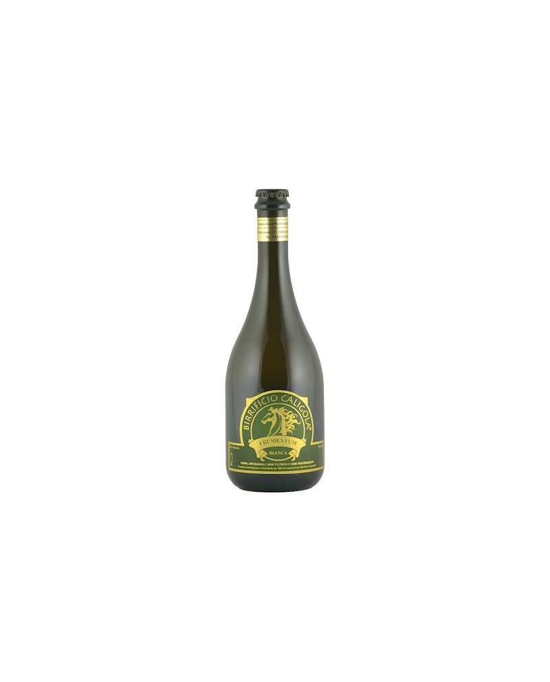 Birra Frumentum - Bianca - Bottiglia da 33 cl - Birrificio Caligola