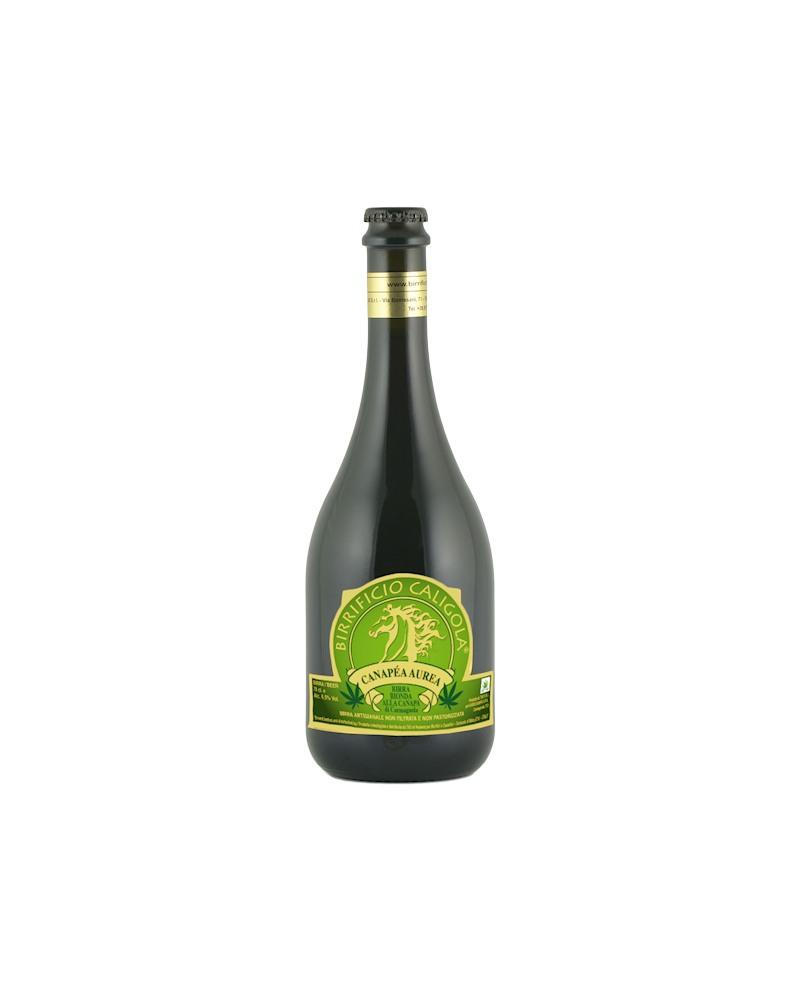 Birra Canapéa Aurea - Bottiglia da 75 cl - Birrificio Caligola