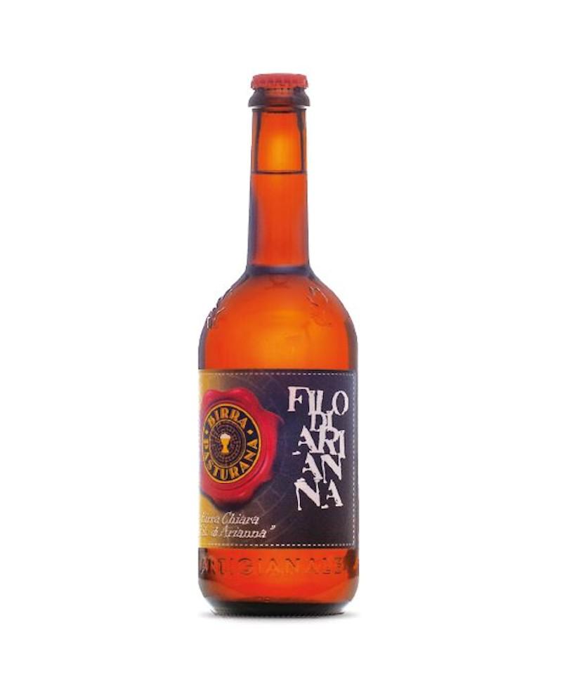 Birra Filo di Arianna - birra chiara - 75 cl - Birrificio Pasturana