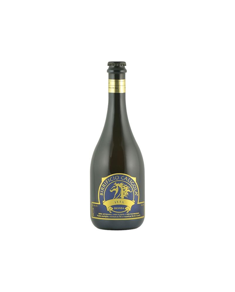 Birra Ilia - Bionda - Bottiglia da 75 cl - Birrificio Caligola