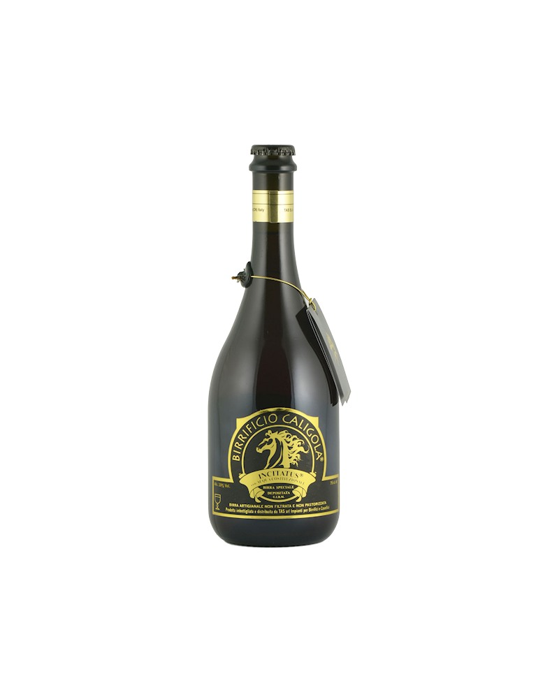 Birra Incitatus - Bottiglia da 75 cl - Birrificio Caligola