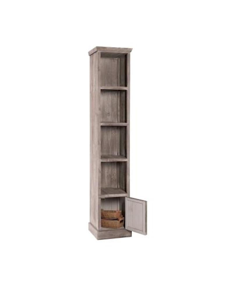 BUFFET HÉRITAGE legno invecchiato 4 scomparti lungh. 39 x prof. 39 x alt. 200 cm - RET Mobili in legno
