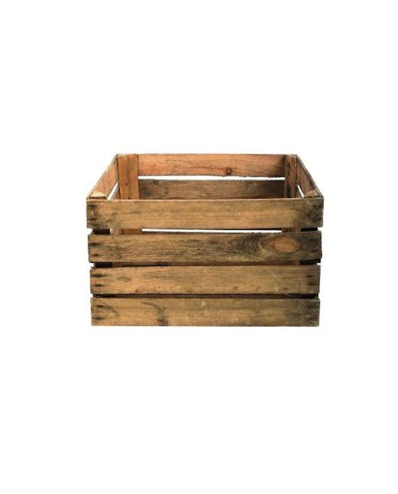 CASSETTA IN LEGNO NATURALE  lungh. 50 x prof. 40 x alt. 30 - RET Mobili in legno