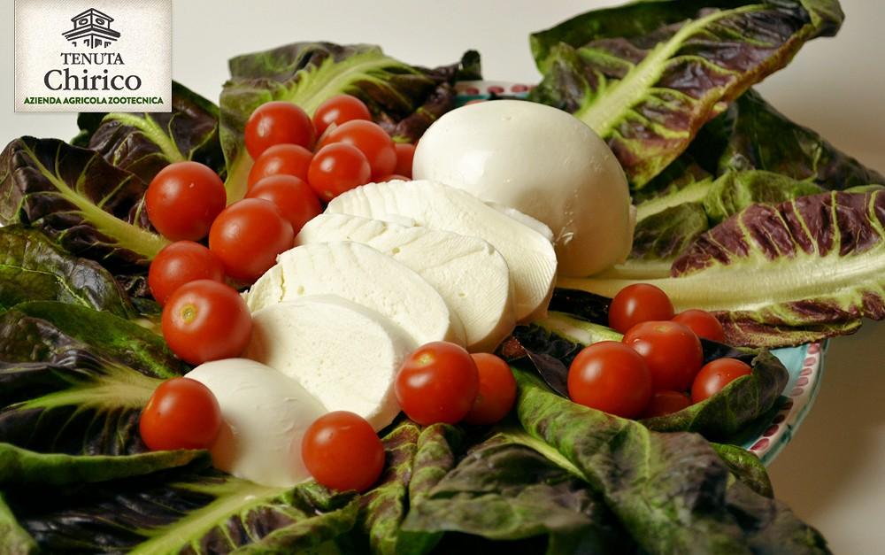 Mozzarella di latte di bufala 100% 125 g Caseificio Chirico