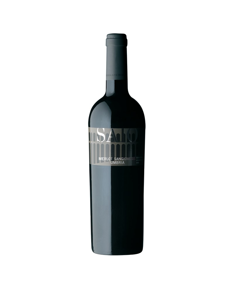 Saio Merlot–Sangiovese Umbria IGT 2016 - 0,75 l - Cantina Saio Assisi