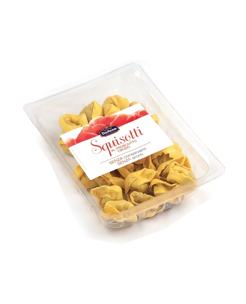 Squisotti al prosciutto crudo - 1 Kg - bontà italiane - Pastificio Davena
